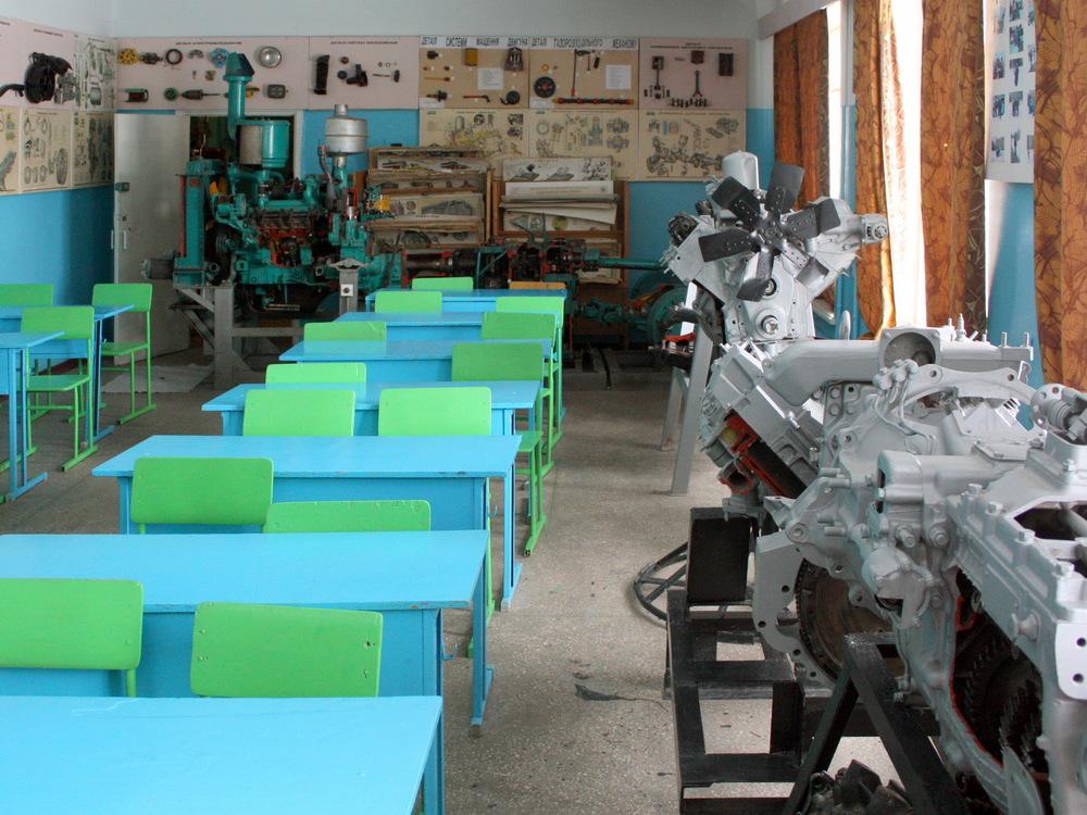 каб.12 Трактори та автомобілі 1