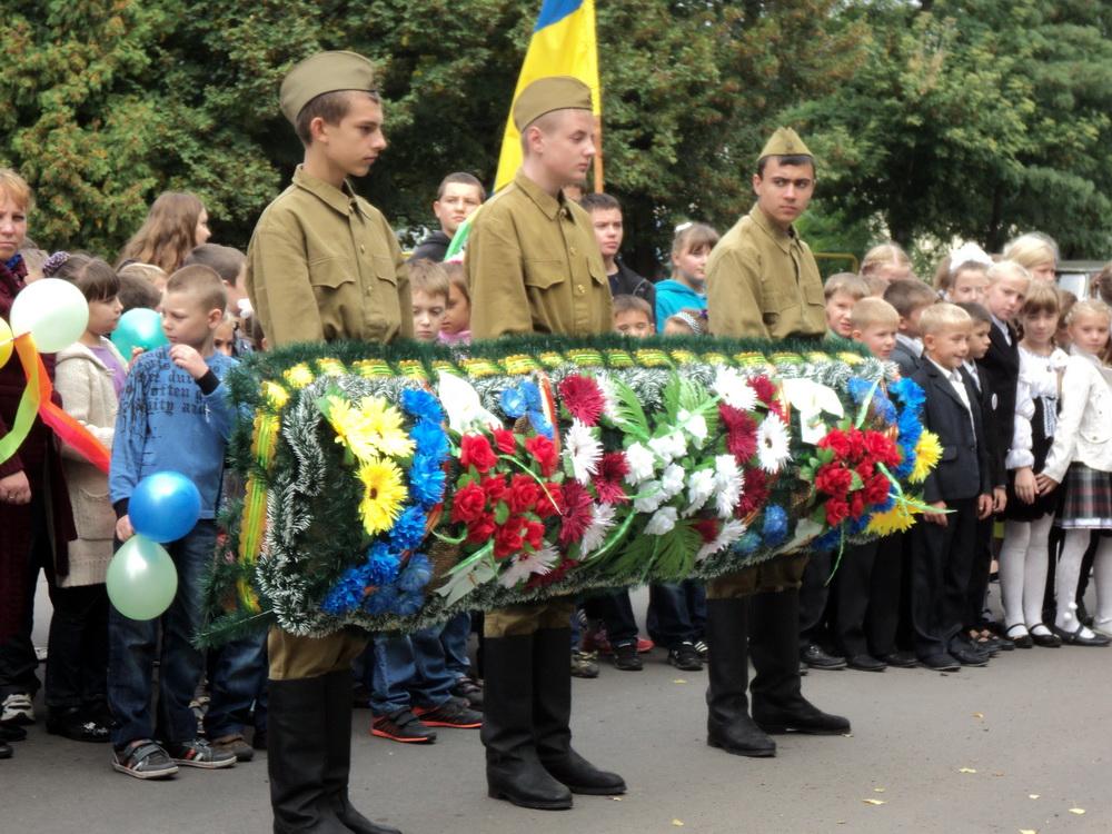 До 70-річчя звільнення України від німецько-фашистських загарбників 15
